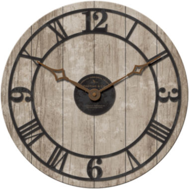 jcpenney.com | FirsTime® Reclaimed Whitewash Wall Clock