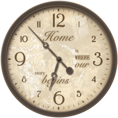 jcpenney.com | FirsTime® Sentiments Wall Clock