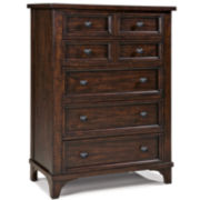 Maddox 5-Drawer Pine Chest