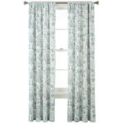 CLOSEOUT! Home Expressions™ Tessa Thermal Back Rod-Pocket Curtain Panel