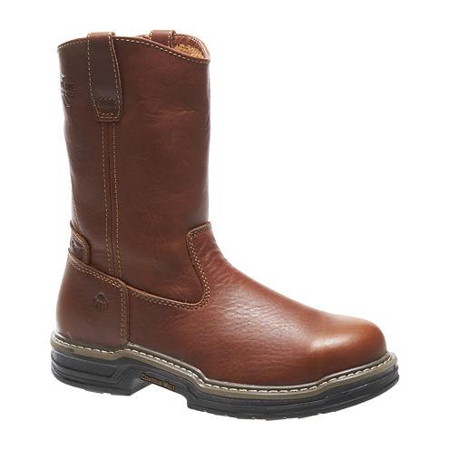 Wolverine® Raider Mens Steel-Toe Wellington Boots