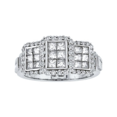 jcpenney.com | LIMITED QUANTITIES 1 3/8 CT. T.W. Diamond 14K White Gold Ring