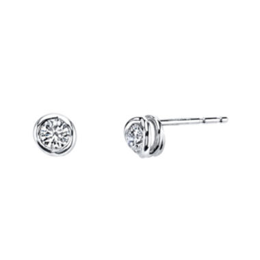jcpenney.com | Sirena® 1/5 CT. T.W. Diamond 14K White Gold Stud Earrings