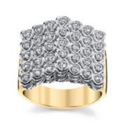 Sirena®  1 CT. T.W. Diamond 14K Two-Tone Ring