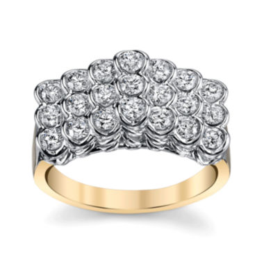 jcpenney.com | Sirena®  3/4 CT. T.W. Diamond 14K Two-Tone Ring