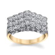 Sirena®  3/4 CT. T.W. Diamond 14K Two-Tone Ring