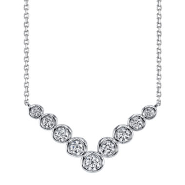 jcpenney.com | Sirena® 1/2 CT. T.W. Diamond 14K White Gold Necklace