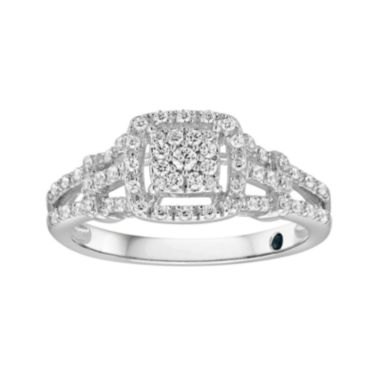 jcpenney.com | I Said Yes™ 1/3 CT. T.W. Diamond Engagement Ring