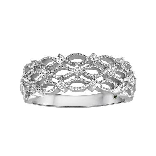 I Said Yes™ 1/5 CT. T.W. Diamond Bridal Ring