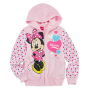 Minnie Mouse Long-Sleeve Hoodie - Girls 7-16