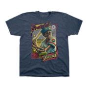 Novelty Grateful Dead Baseball Short-Sleeve T-Shirt