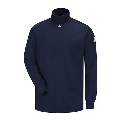 Bulwark® Men's Long-Sleeve Mock Turtleneck T-Shirt