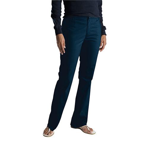 Dickies® Slim-Fit Bootcut Stretch Twill Pants- Long