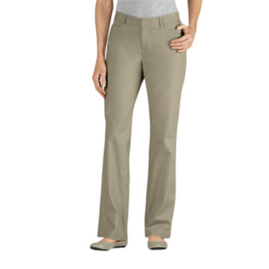 jcpenney.com | Dickies® Curvy-Fit Straight-Leg Stretch Twill Pants