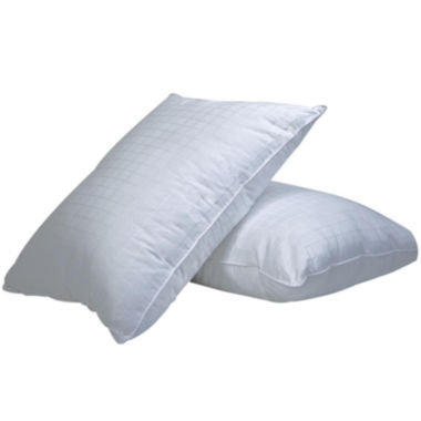 jcpenney.com | DownLinens Plush Perfect Down-Alternative Overstuffed Firm 2-Pack Pillows