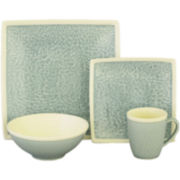 Sango Vega 16-pc. Square Dinnerware Set