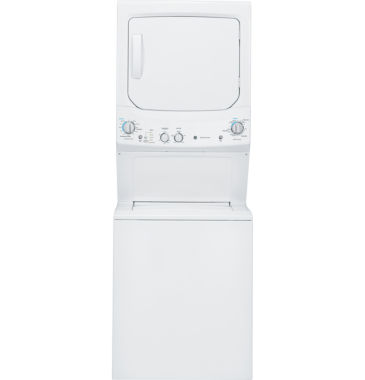 jcpenney.com | GE® Unitized Spacemaker® 3.2 DOE Cu. Ft. Washer and 5.9 Cu. Ft. Gas Dryer