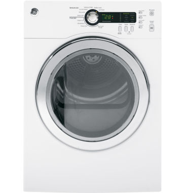 jcpenney.com | GE® 4.0 Cu. ft. Electric Dryer With SensorDry™ Technology