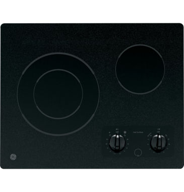 "jcpenney.com | GE® 21"" Electric Radiant Cooktop With 2 Burners"