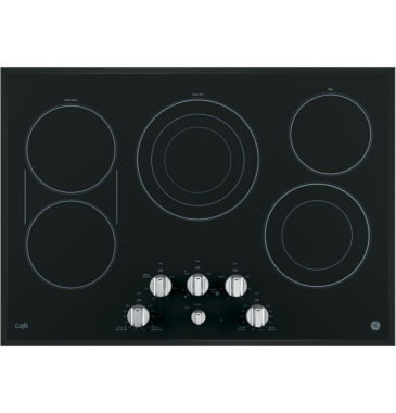 "jcpenney.com | GE Café ™  30"" Built-In Knob Control Electric Cooktop With 6 Elements"