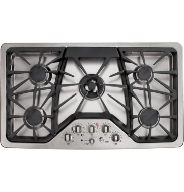 "jcpenney.com | GE Café™  36"" Built-In Gas Cooktop With 5 Burners"