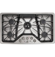 """GE Café™  36"""" Built-In Gas Cooktop With 5 Burners"""