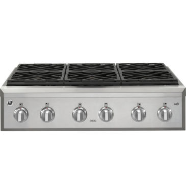 "jcpenney.com | GE Café™ 36"" Gas Range With 6 Burners"