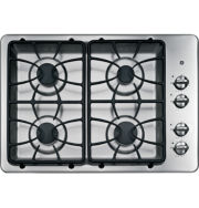 """GE 30"""" Built-In Gas Cooktop With 4 Burners"""
