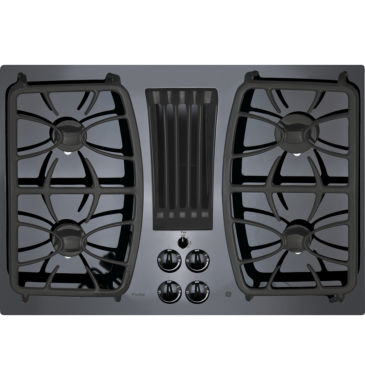 "jcpenney.com | GE Profile™  30"" Built-In Gas Downdraft Cooktop With 4 Burners"
