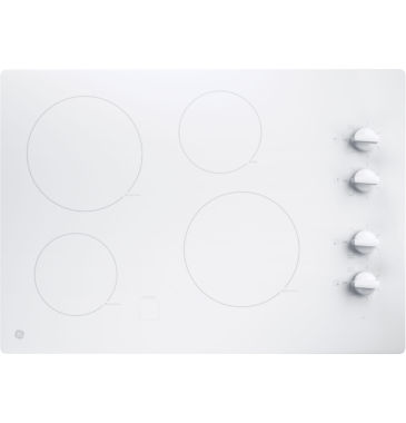 "jcpenney.com | GE® 30"" Built-In Knob Control Electric Cooktop With 4 Elements"