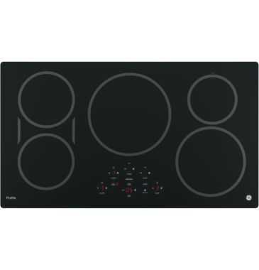 "jcpenney.com | GE Profile™  36"" Built-In Touch Control Induction Cooktop With 5 Elements"