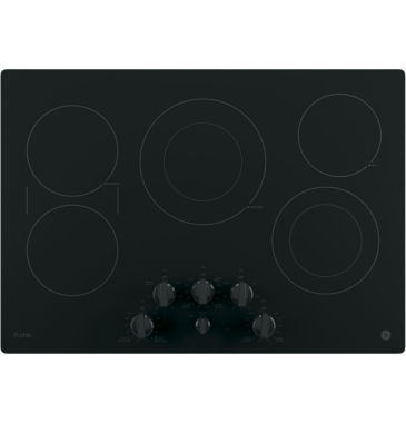 "jcpenney.com | GE Profile™  30"" Built-In Knob Control Electric Cooktop With 5 Elements"