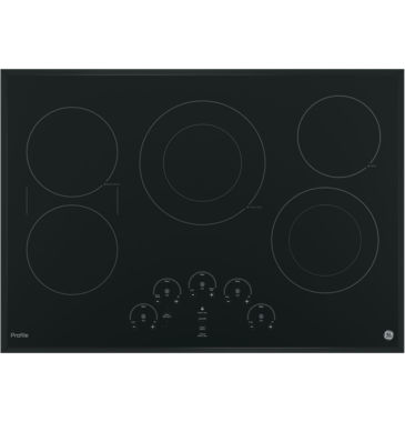 "jcpenney.com | GE Profile™  30"" Built-In Touch Control Electric Cooktop With 5 Elements"