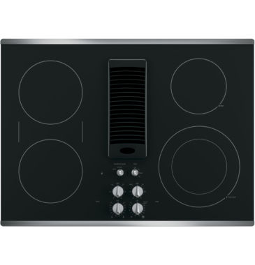 "jcpenney.com | GE Profile™  30"" Downdraft Electric Cooktop With 4 Elements"