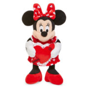 Disney Collection Valentine Minnie Mouse Medium Plush
