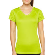 Xersion™ Short-Sleeve Essential V-Neck Tee- Tall