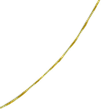 jcpenney.com | 10K Gold Venetian Box Chain Necklace, 18""