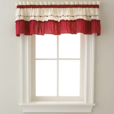 jcpenney.com | Jayden Two-Tone Rod-Pocket Tailored Valance