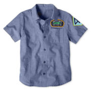 Okie Dokie® Camp Shirt - Boys 12m-6y
