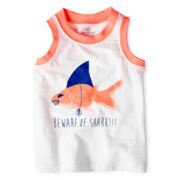 Okie Dokie® Graphic Tank Top - Boys 12m-6y