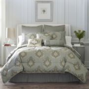 Carson 7-pc. Jacquard Comforter Set & Accessories