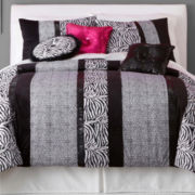 Seventeen® Ciera Zebra Comforter Set