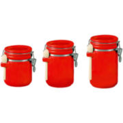 3-pc. Ceramic Canister Set