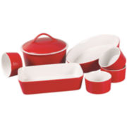 Euro Ceramica 8-pc. Ceramic Bakeware Set