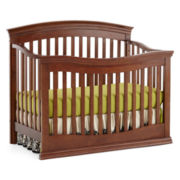Rockland Easton Convertible Crib - Cocoa