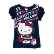 Hello Kitty® Puff-Sleeve Graphic Tee - Girls 4-6x