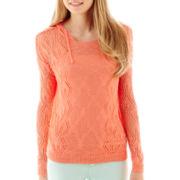 Arizona Long-Sleeve Pullover Hooded Sweater