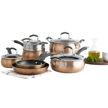 jcpenney.com | Epicurious® 11-pc. Aluminum Nonstick Cookware Set