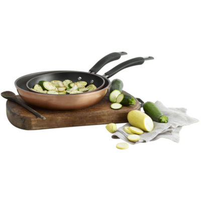 Epicurious® Copper 2-pc. Aluminum Nonstick Fry Pan Set