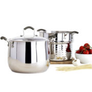 Epicurious® 3-pc. 10-qt. Stainless Steel Pasta Cooker
